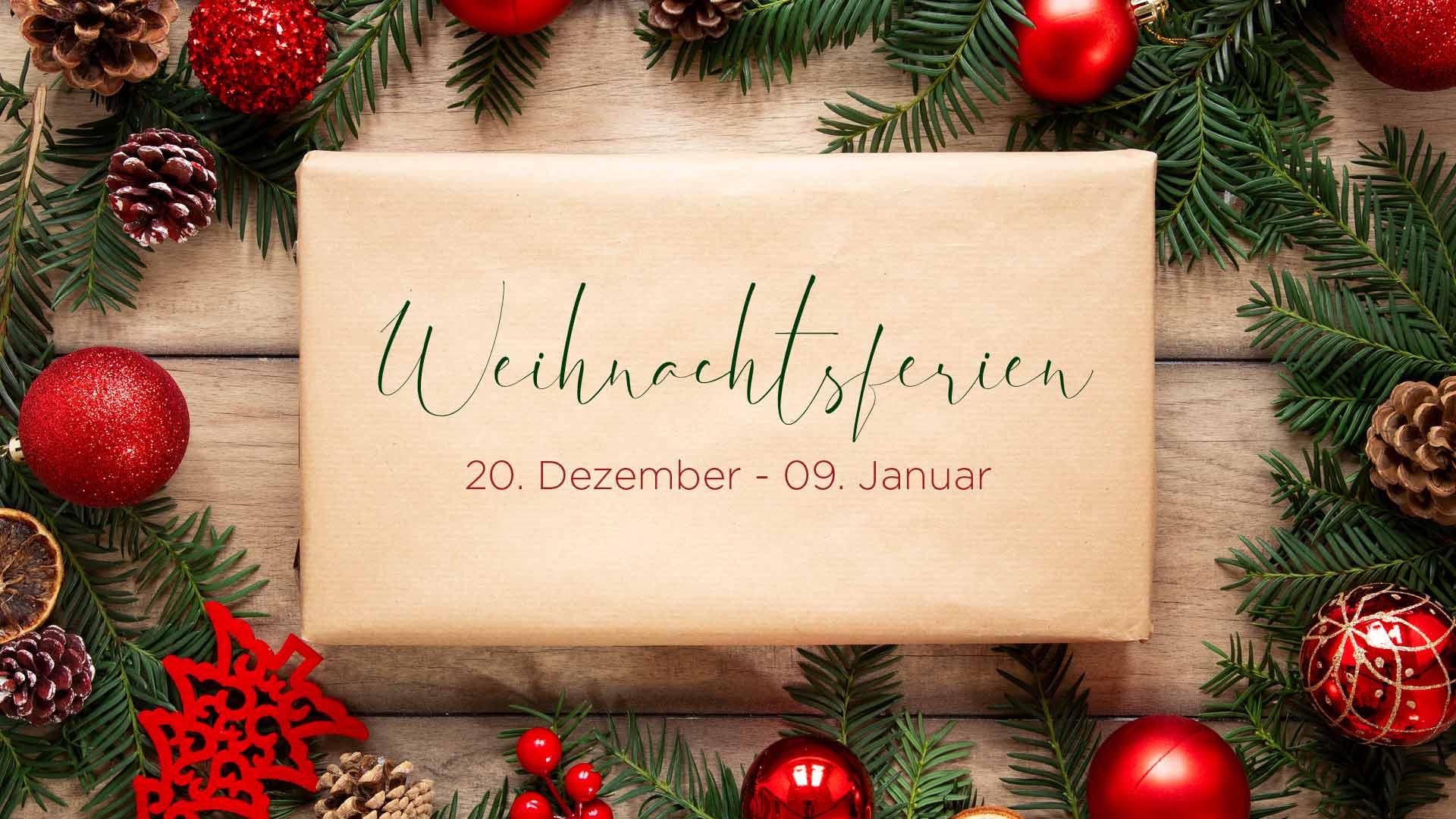 2019 12 Ferien Weihnachten Newsbild